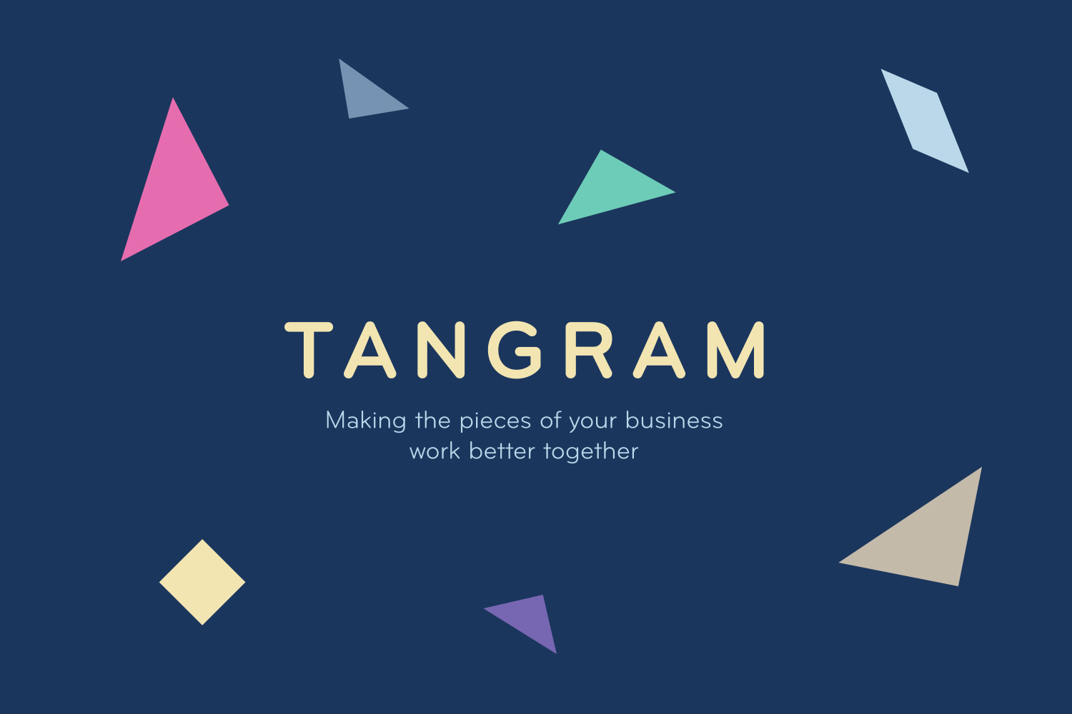 Tangram Consulting Flexible Brand Mark and Logotype