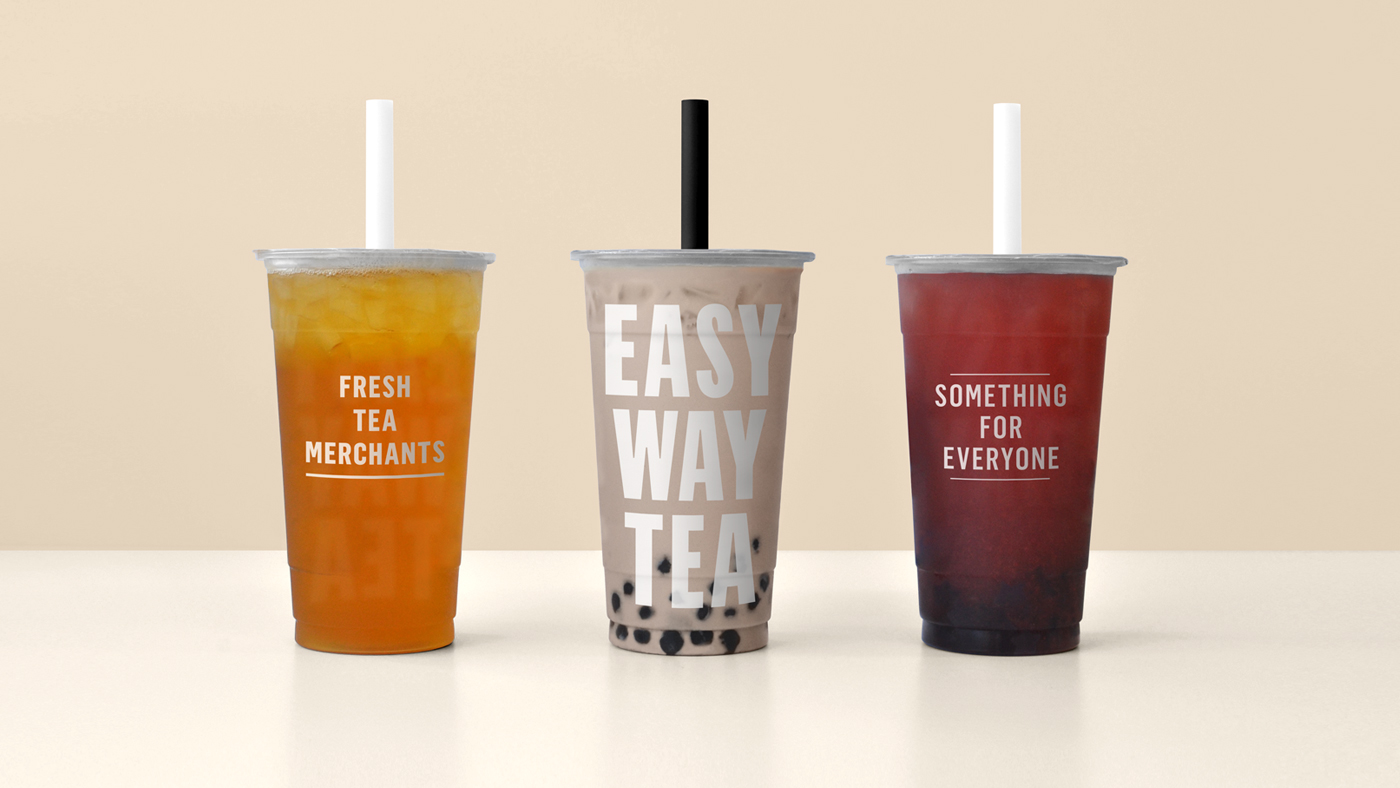 Easy Way Tea Brand Identity Refresh Product Packaging