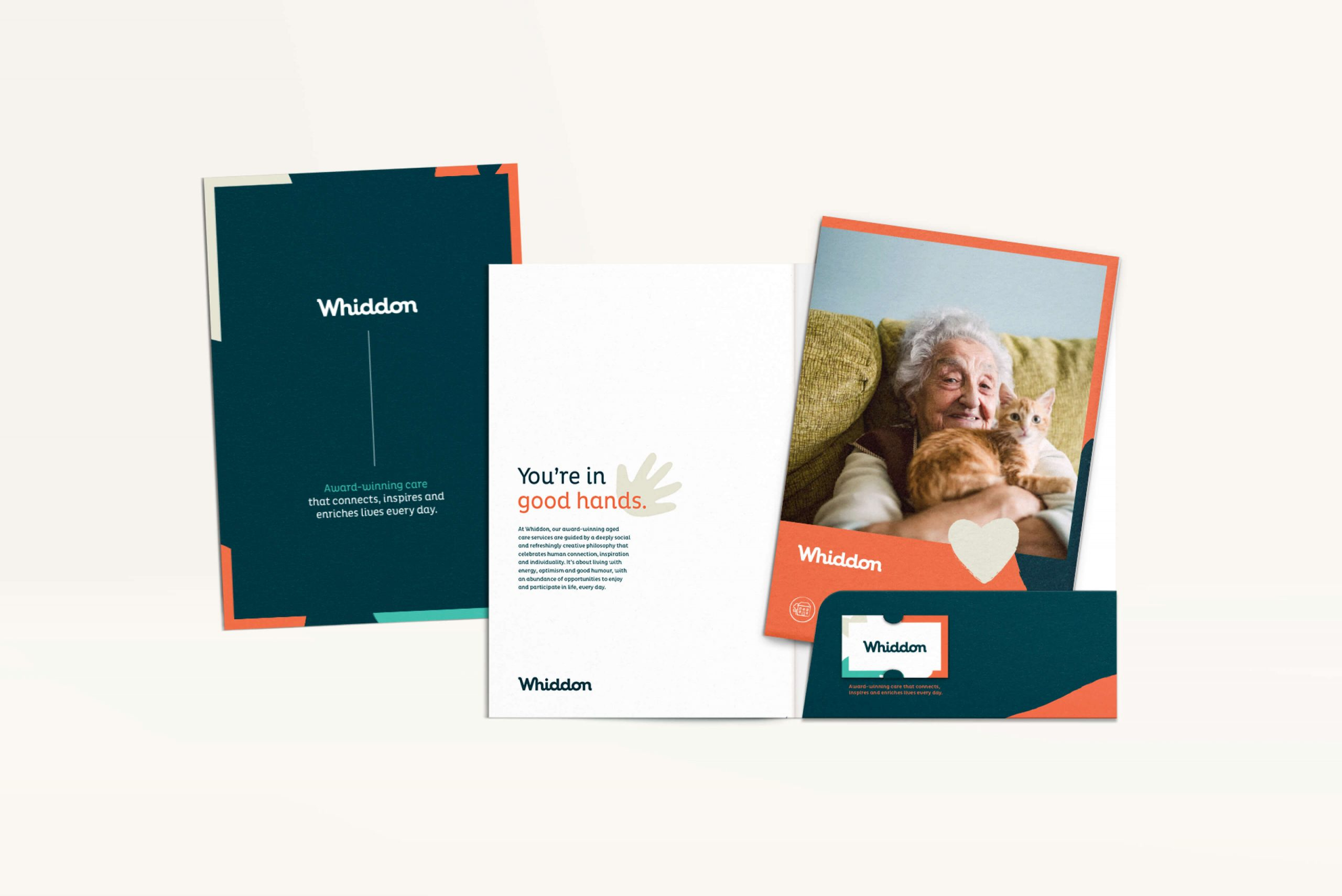 Whiddon Brand Refresh - Welcome brochure pack