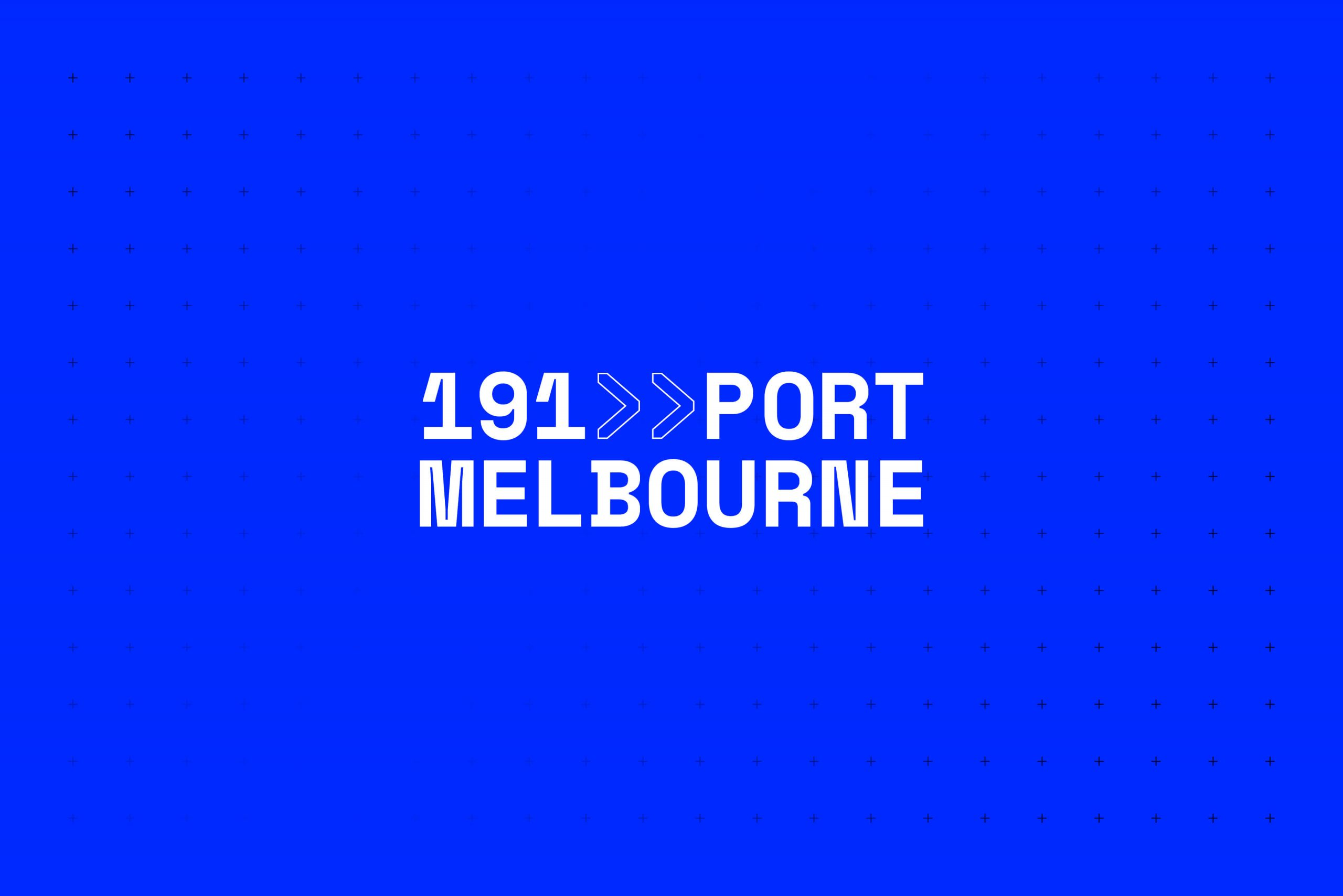 191 Port Melbourne - Property Brand Identity - Logotype & Colour Palette