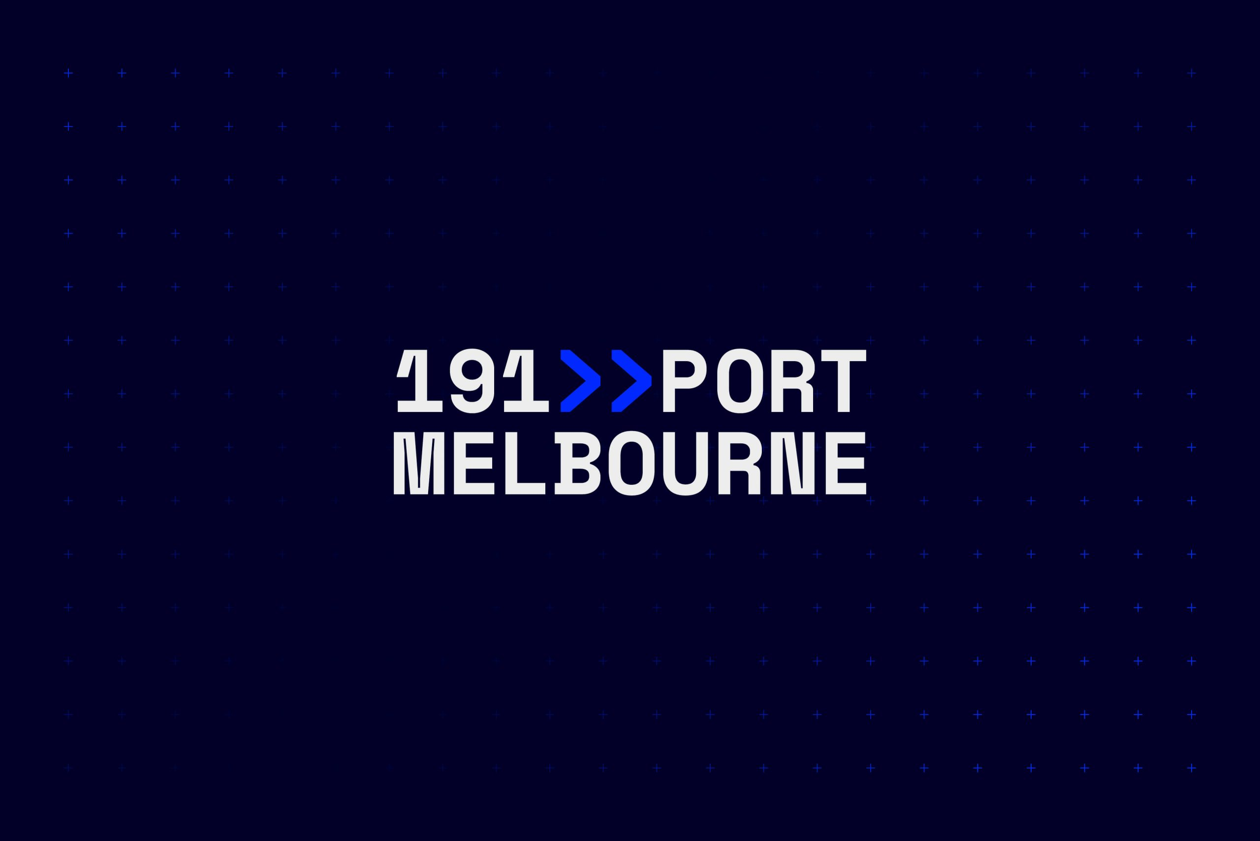 191 Port Melbourne - Property Brand Identity - Logotype & Colour Palette 2