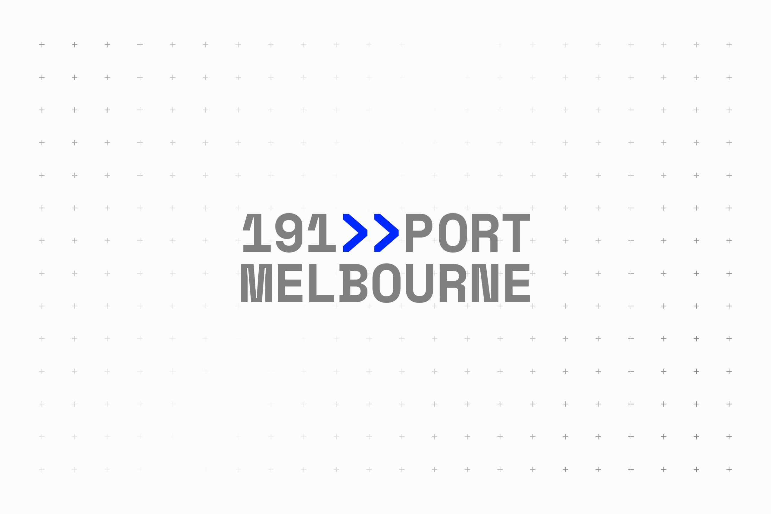 191 Port Melbourne - Property Brand Identity - Logotype & Colour Palette 3