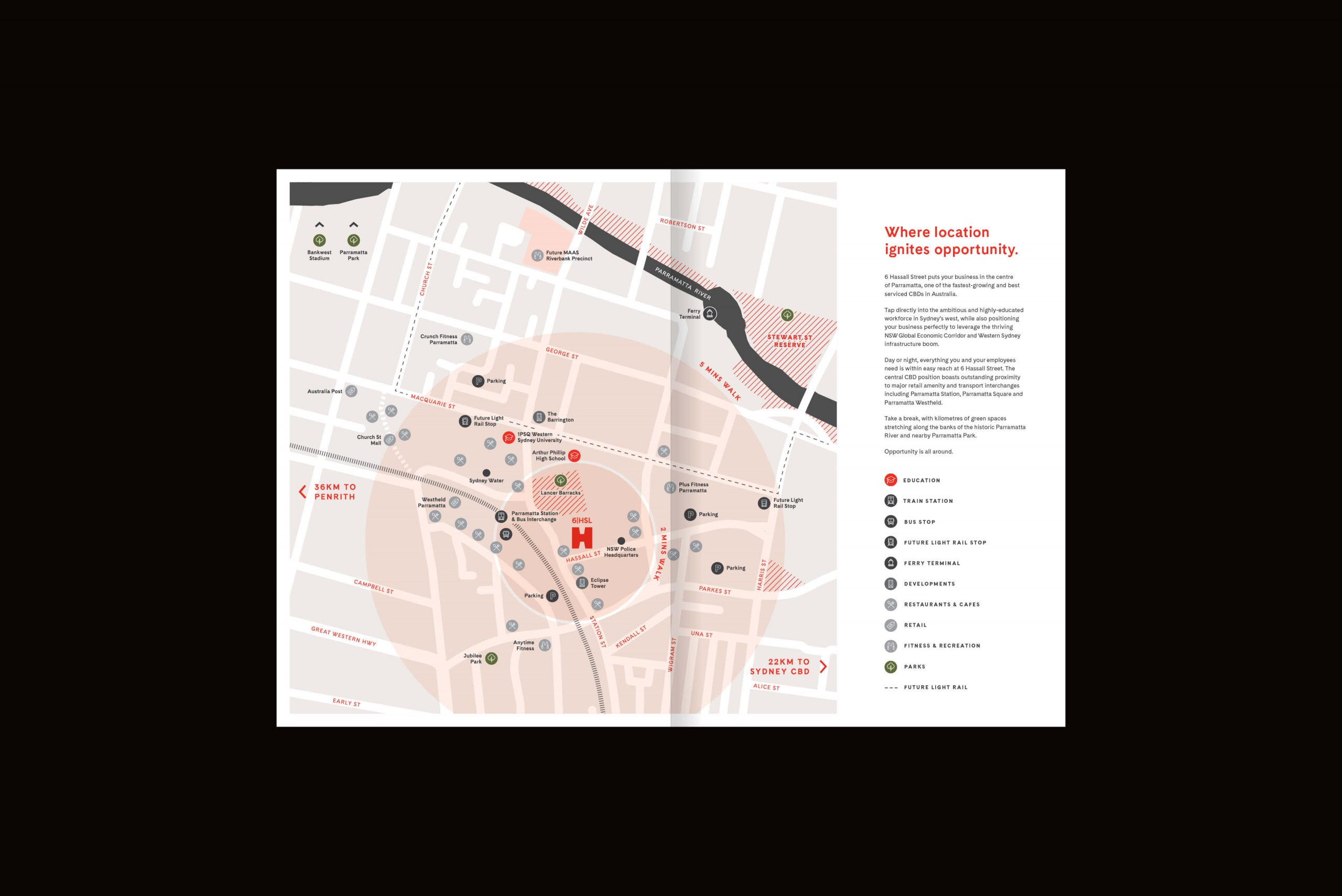6 Hassall St Property Brand for Charter Hall - Brochure Spread 4