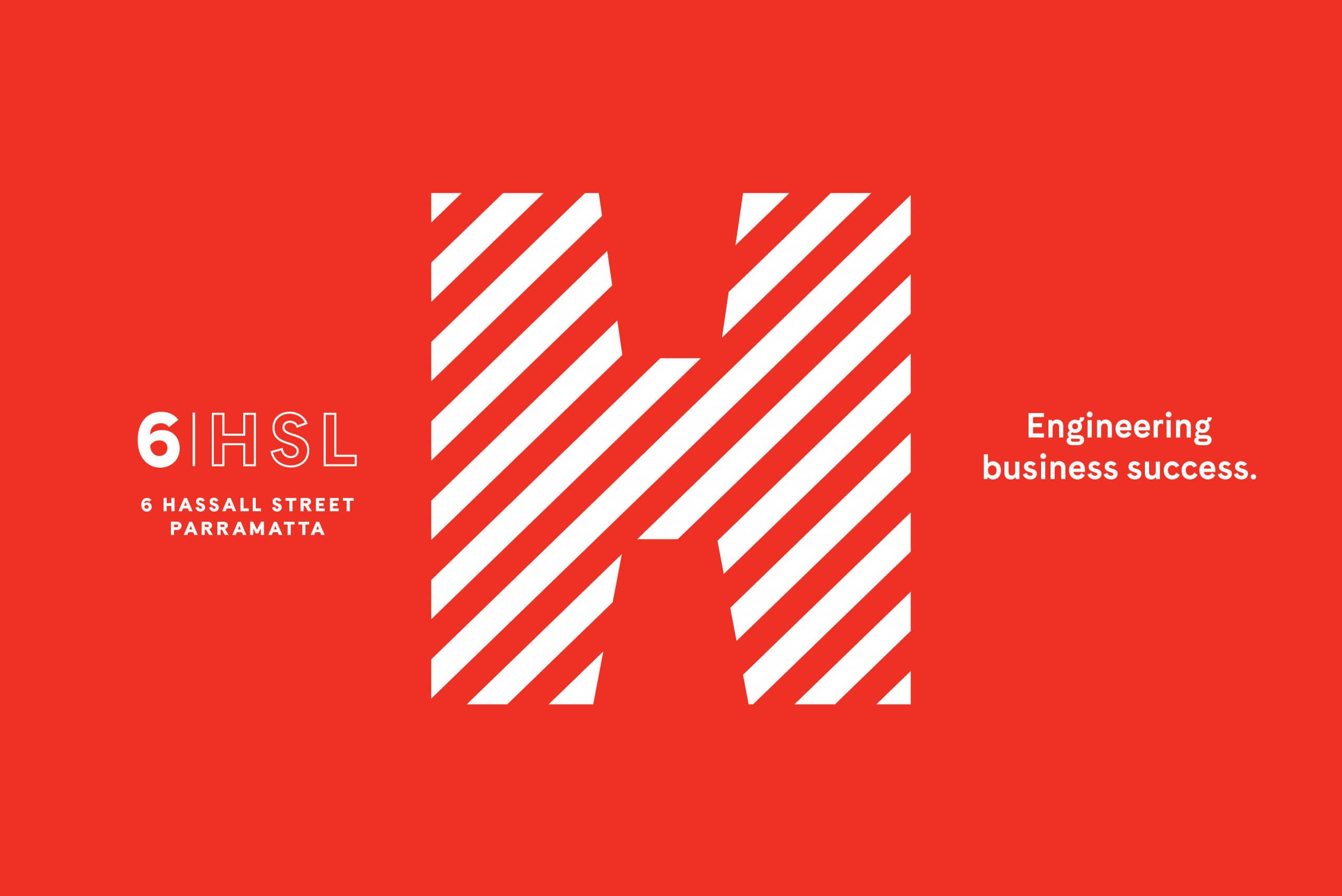 6 Hassall St Property Brand for Charter Hall - Logo Mark with Positioning Statement