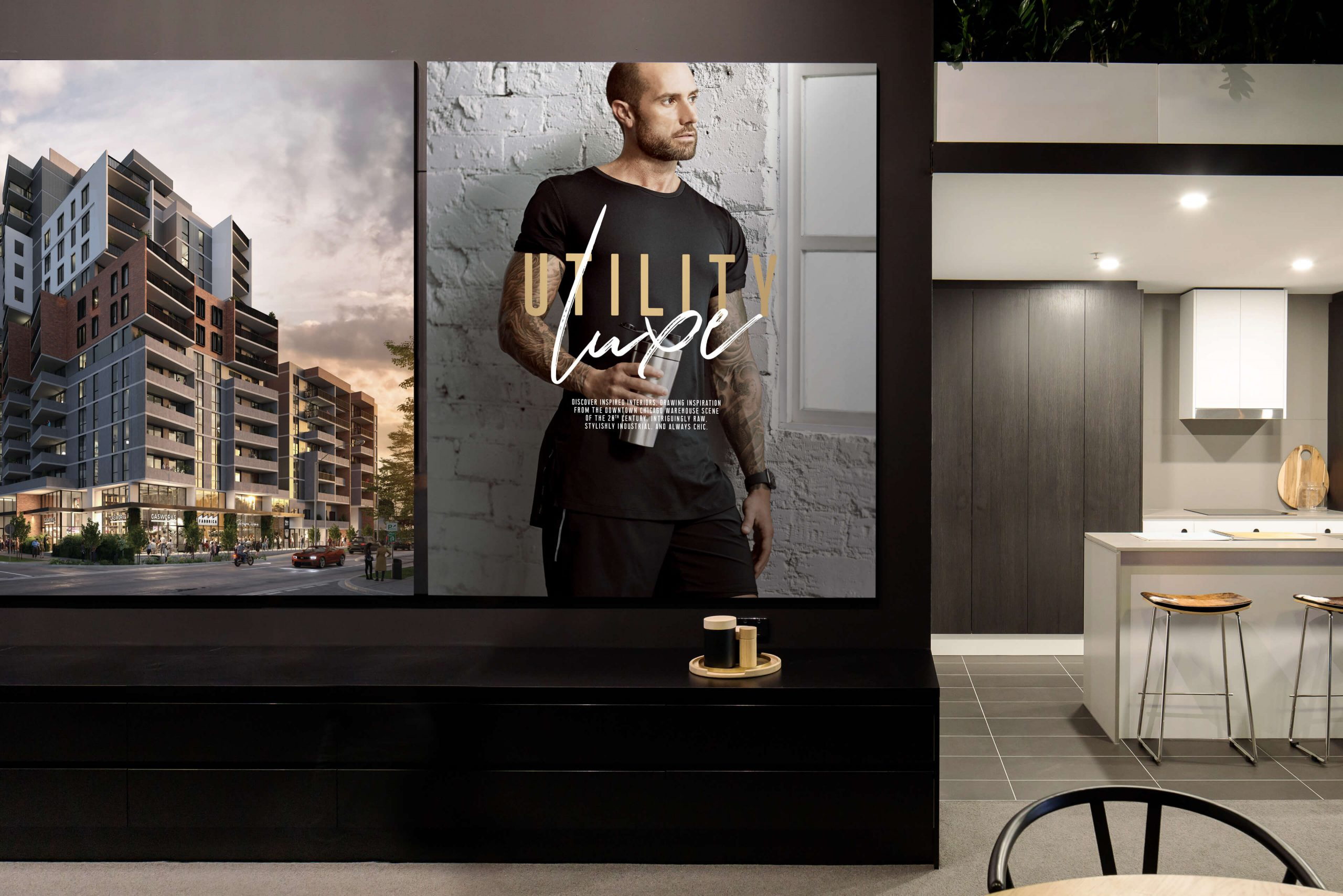 Geocon - The Establishment - Property Identity & Campaign - Sales Suite Design