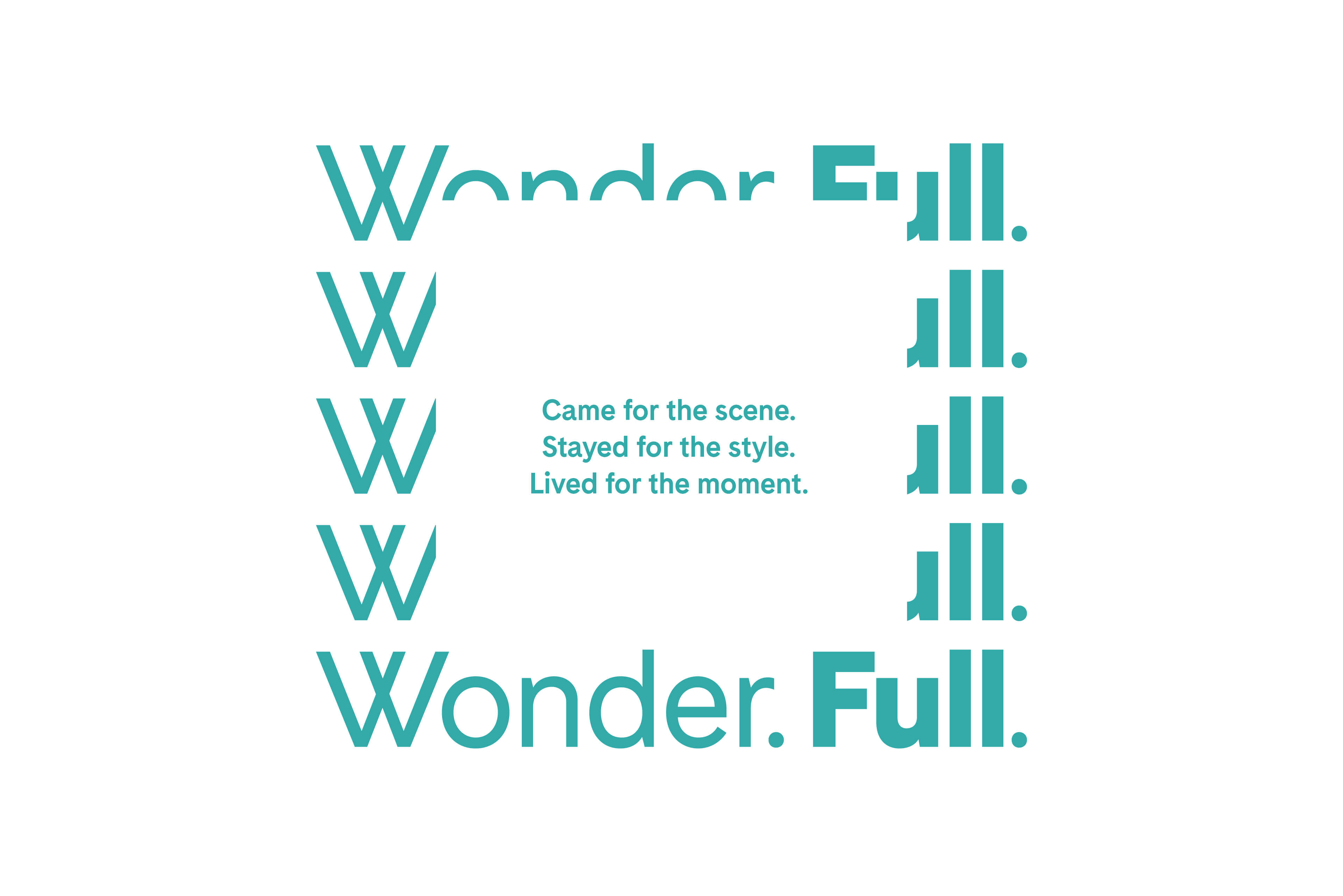 Ovolo Hotels Brand Refresh - Wonder. Full. Typography & Copywriting 1