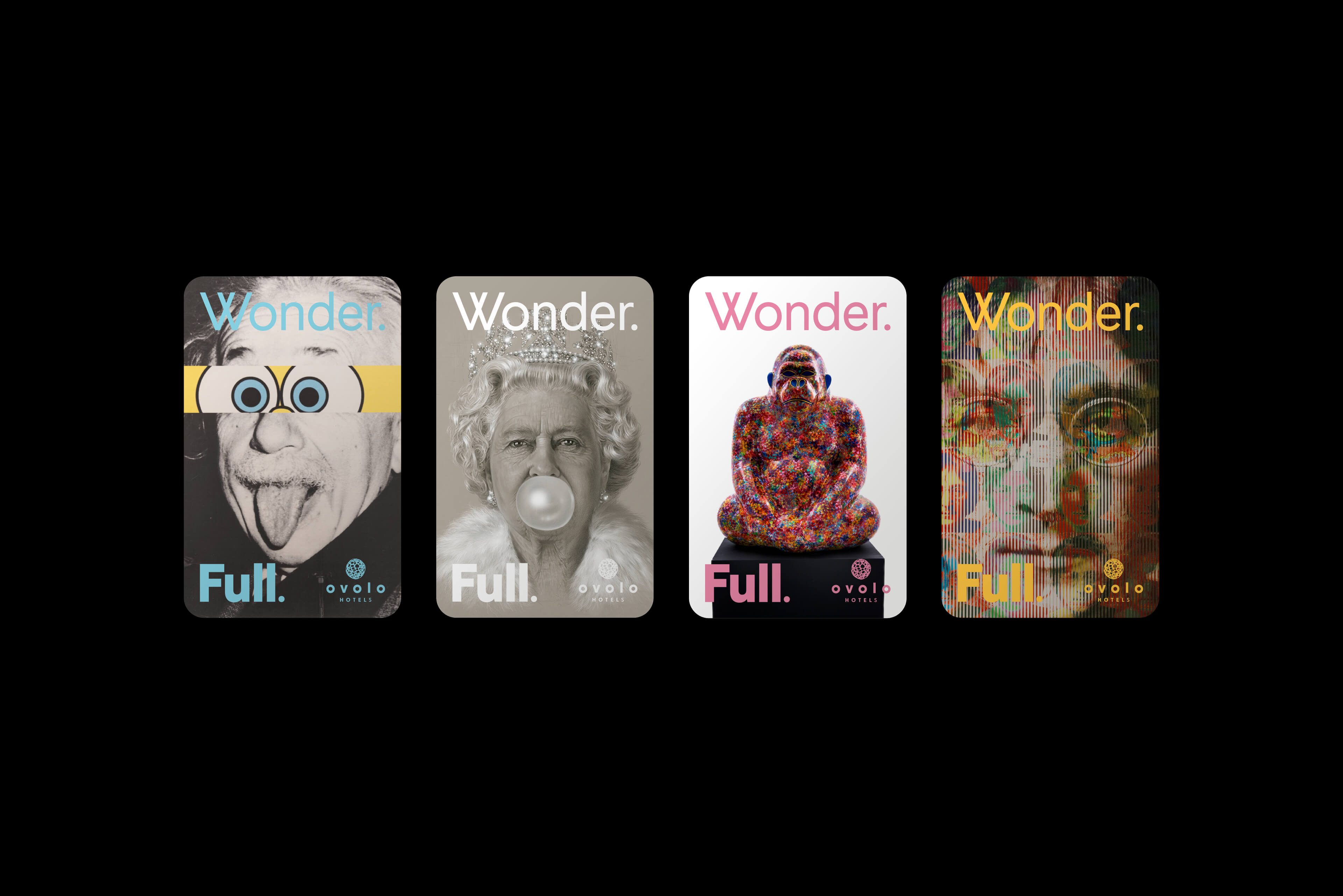 Ovolo Hotels Brand Refresh - Wonder. Full. Hotel Door Cards