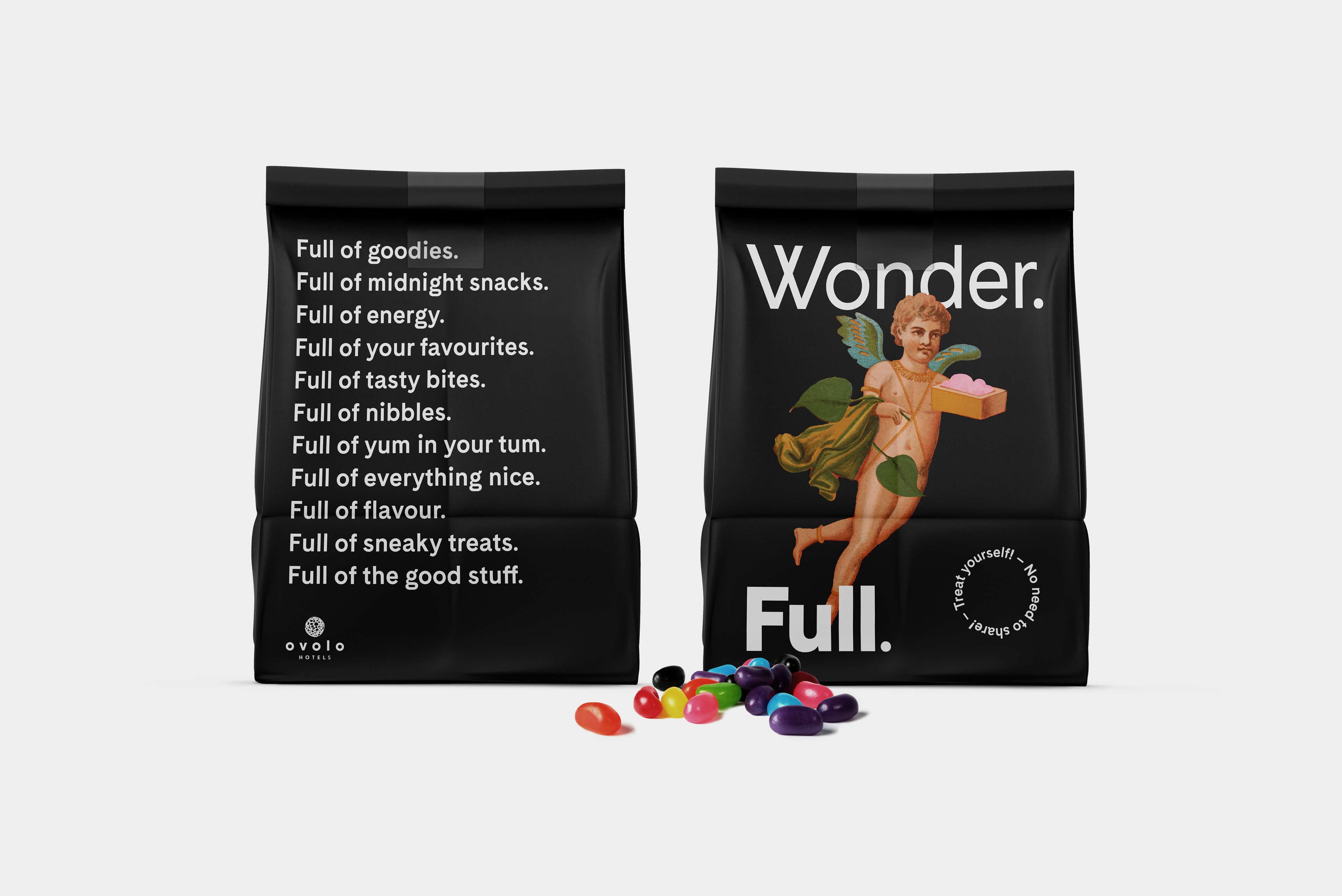 Ovolo Hotels Brand Refresh - Wonder. Full. Free Room Loot Bags