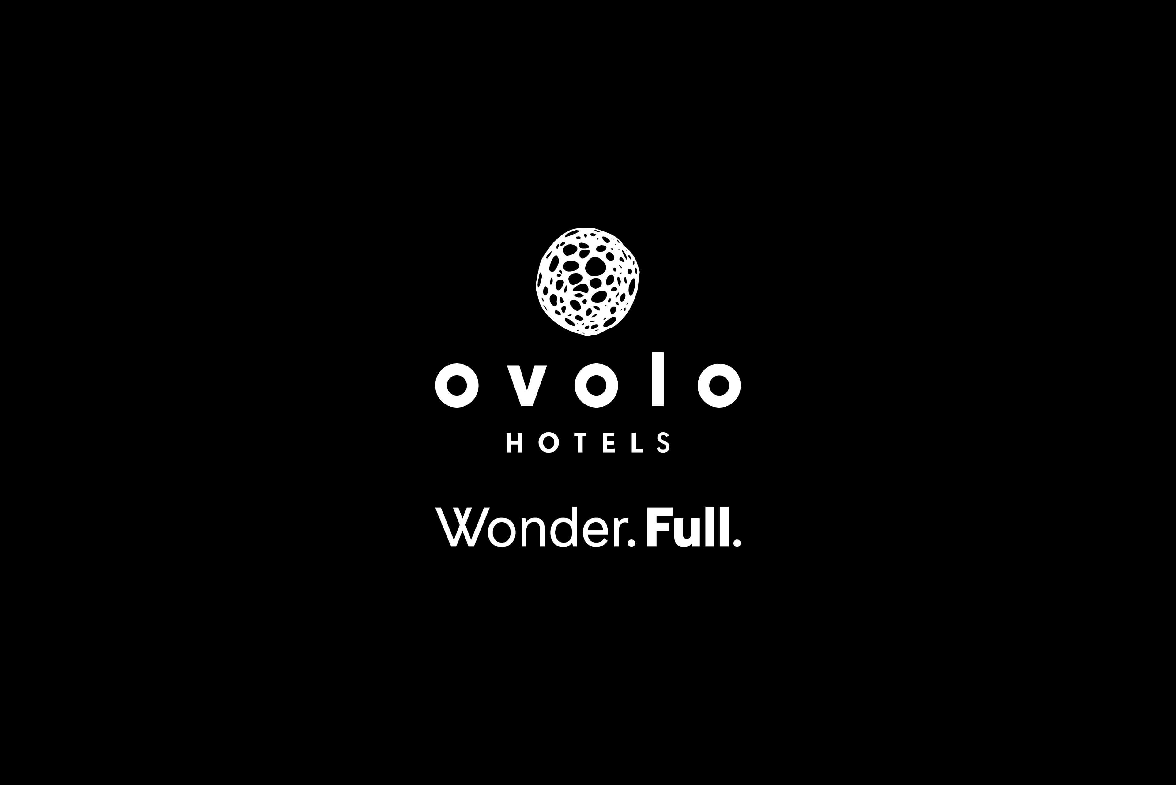 Ovolo Hotels Brand Refresh - Wonder. Full. Logo lock-up