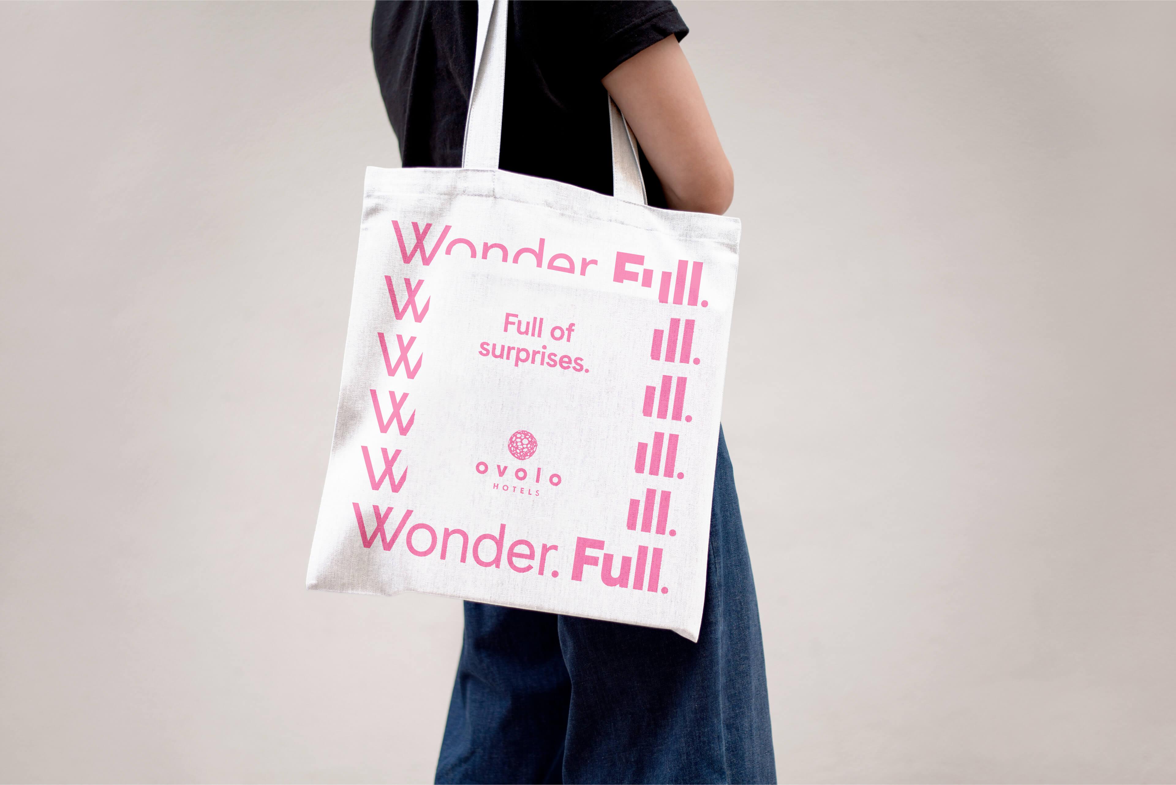 Ovolo Hotels Brand Refresh - Wonder. Full. Free Tote Bag