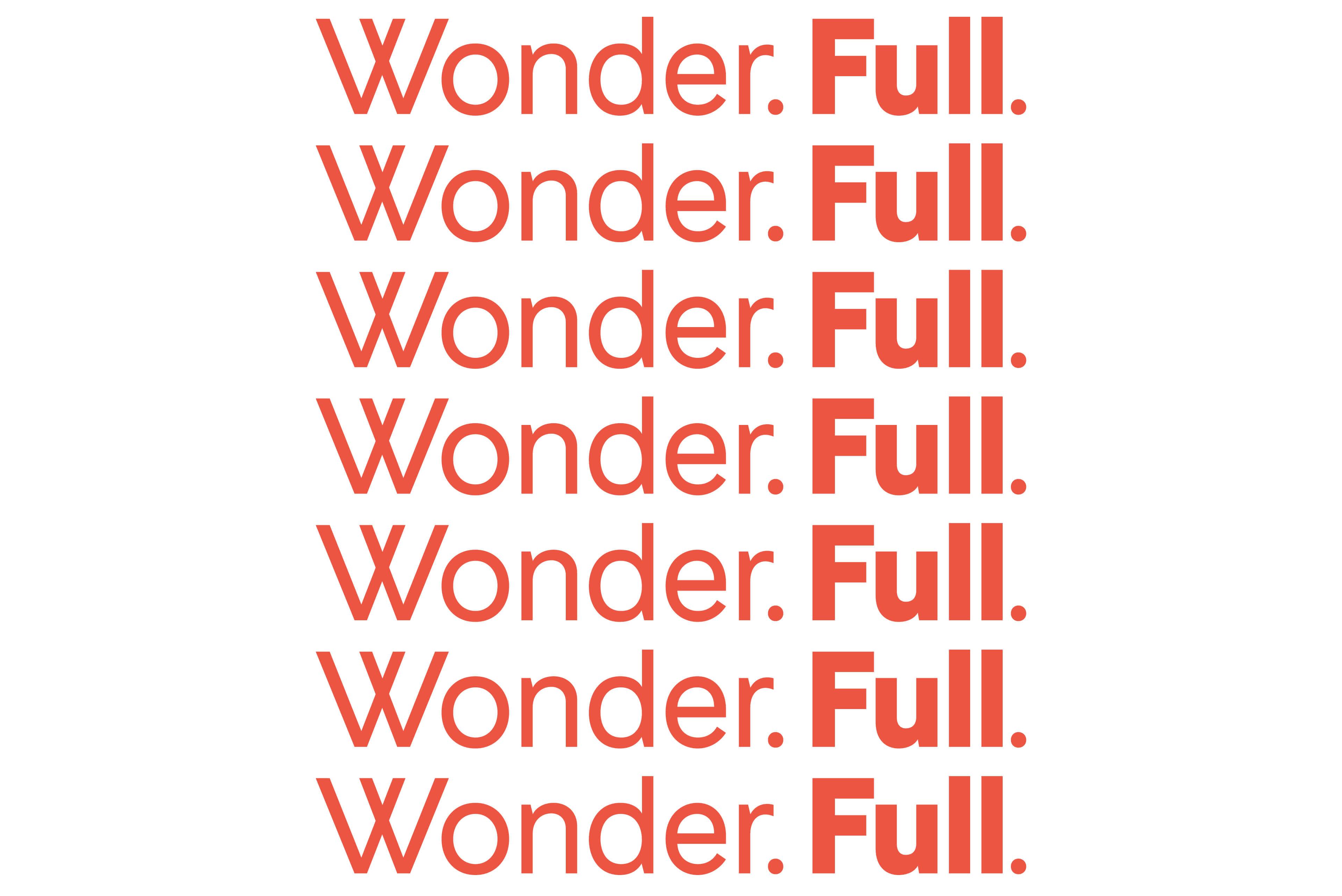 Ovolo Hotels Brand Refresh - Wonder. Full. Typography Statement