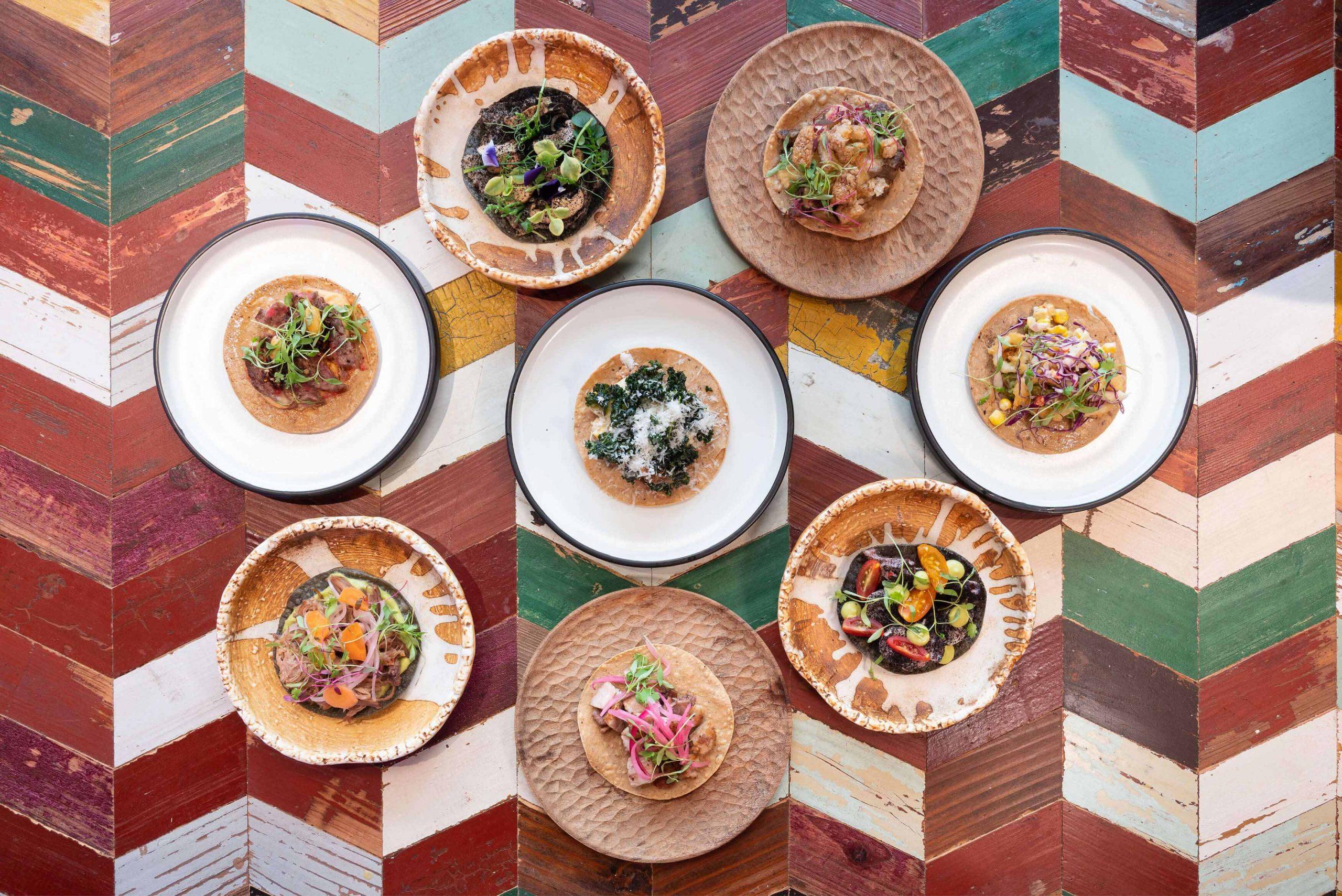 Ovolo Te Quiero Mucho Hospitality Identity - Taco food photography