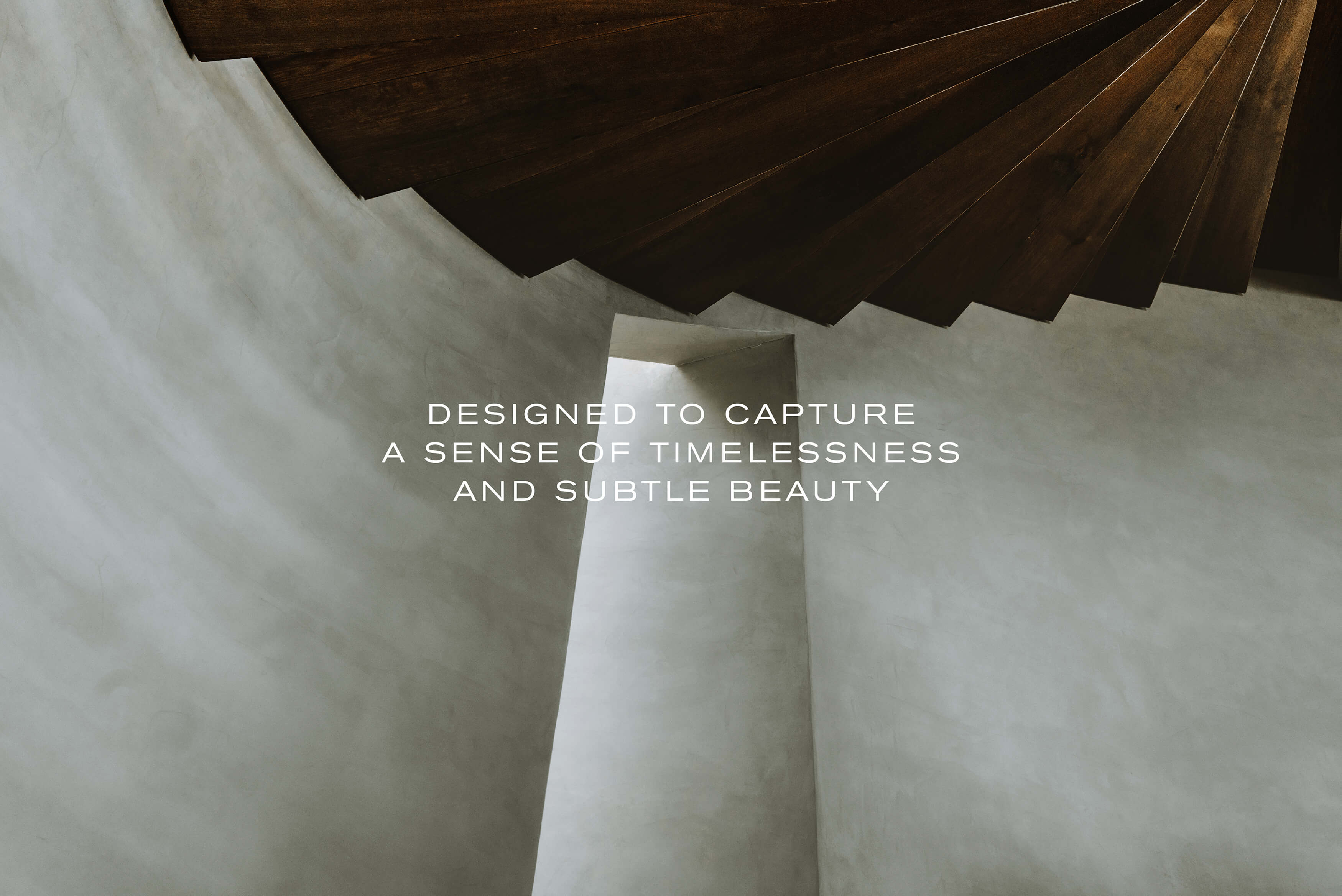 Stafford Architecture - Brand Statement, Designed to capture a sense of timelessness and subtle beauty